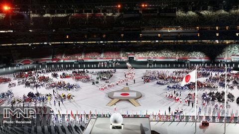 نمای کلی در مراسم افتتاحیه پارالمپیک توکیو 2020