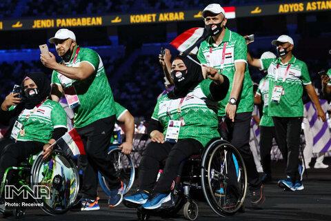 رژه تیم عراق در رژه پارالمپیک
