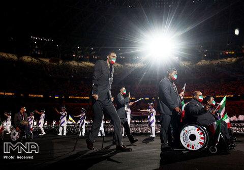 رژه تیم ایران در رژه پارالمپیک