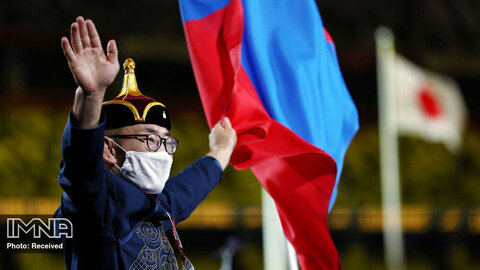 حضور یک جودوکار به عنوان پرچمدار تیم مغولستان