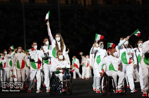 رژه کاروان ایتالیا در پارالمپیک