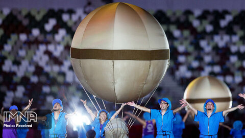 اجرای نمایش هنری پارالمپیک 2020 توکیو
