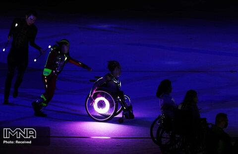 اجراهای هنری شبنما در افتتاحیه پارالمپیک