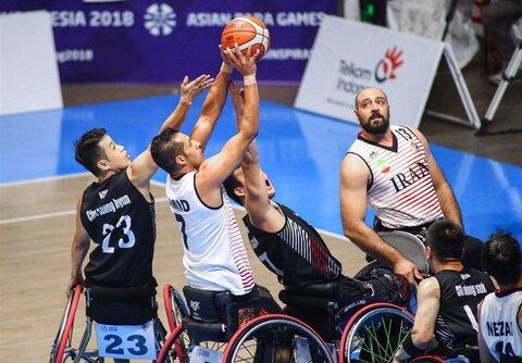 باخت بسکتبال با ویلچر ایران در کوارتر نخست