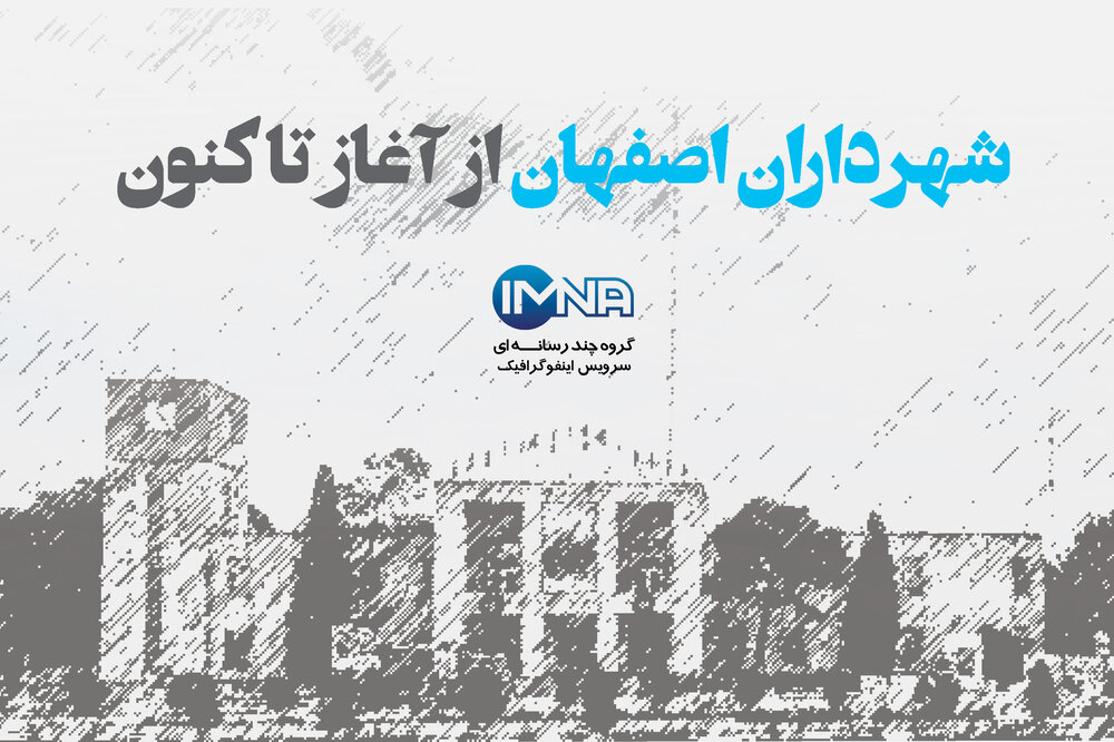 شهرداران اصفهان از آغاز تاکنون+اینفوگرافیک