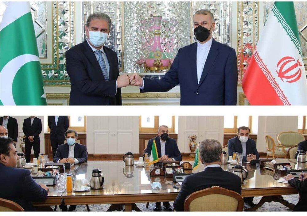 گزارش امیرعبداللهیان از دیدارش با وزیر خارجه پاکستان