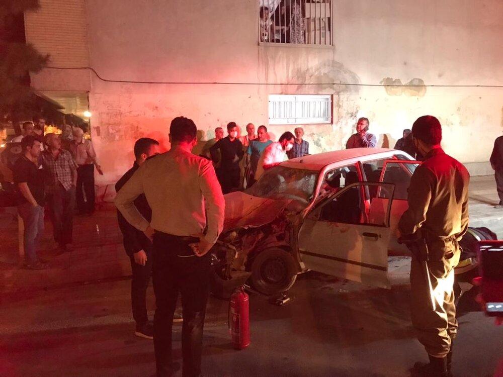 جزئیات حوادث تصادف تا حریق پارکینگ عمومی جنب بیمارستان صدوقی+ عکس