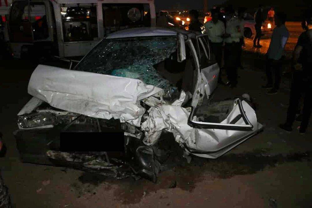 تصادف جاده دیزیچه به زرینشهر ۹ مصدوم برجای گذاشت