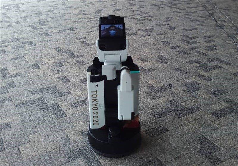 عکس گرفتن با ربات در پارالمپیک توکیو!