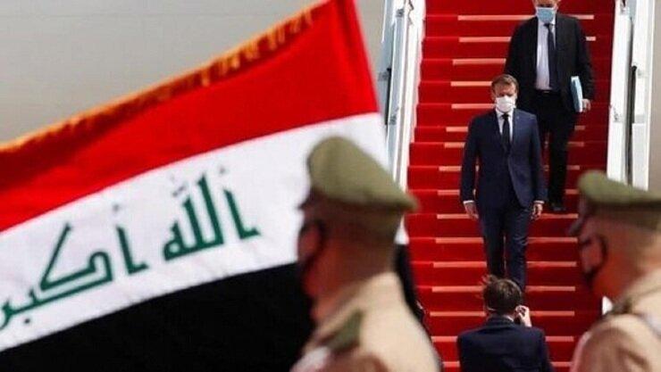 تشدید تدابیر امنیتی در پایتخت عراق؛ مکرون وارد بغداد شد