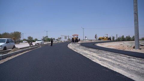 فاز نخست خیابان اطشاران آماده بهرهبرداری است