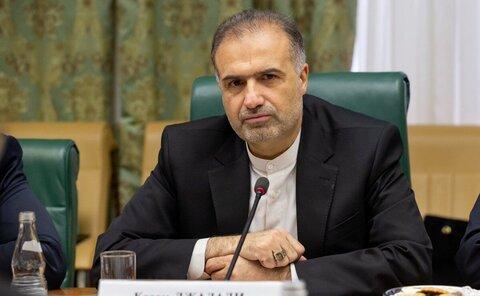 سفیر ایران در روسیه: درباره نفت وگاز با هیچ رسانه ای مصاحبه نکرده ام
