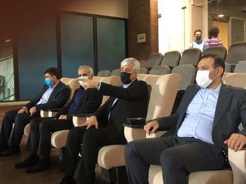 بازدید سجادی از تمرینات تیم ملی فوتبال