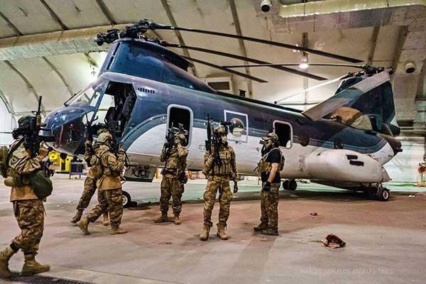واکنش افغانستان به استقرار نیروهای چین در پایگاه بگرام