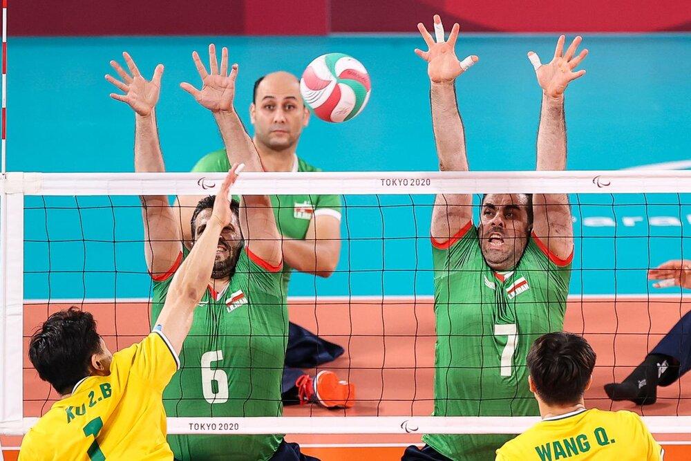 ایران ۳ _ چین صفر/ سلام والیبال نشسته به نیمهنهایی با گذر از دیوار چین