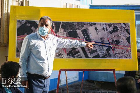 بازدید از پروژه رینگ حفاظتی
