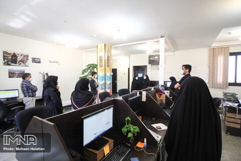 بازدید عضو شورای شهر اصفهان از خبرگزاری ایمنا
