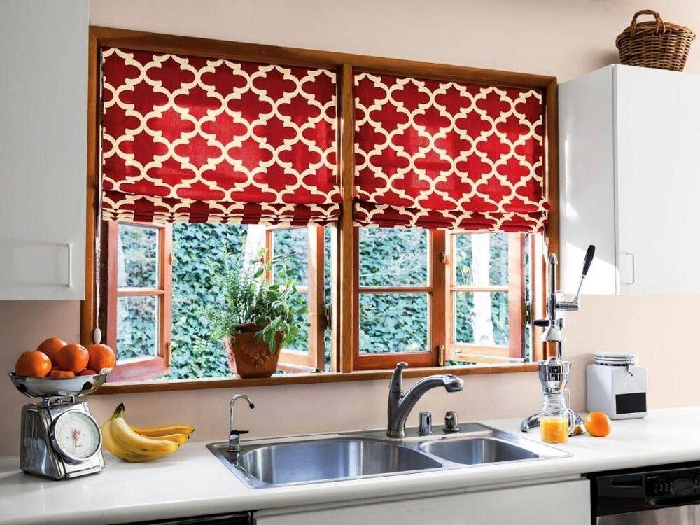انواع طرح های مدرن و ساده پرده جدید + راهنمای خرید و انتخاب پرده آشپزخانه و عکس