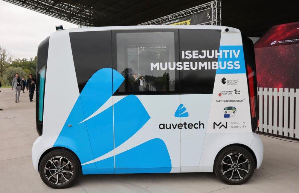 ظهور اتوبوسهای بدون راننده در استونی