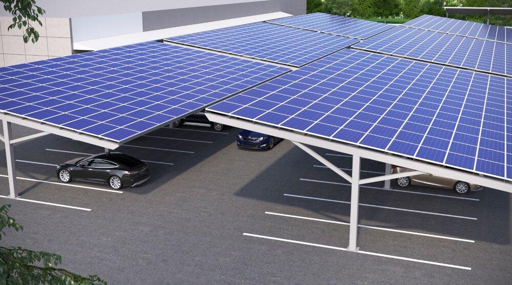 رومانی میزبان پارکینگ خورشیدی