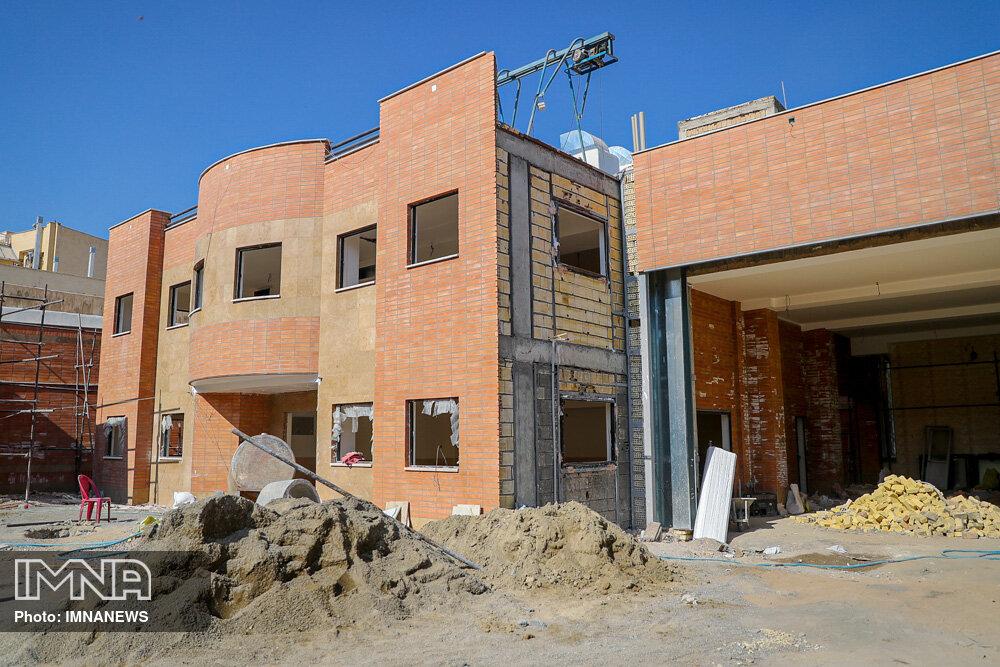 ساختمان ایستگاه آتشنشانی چهارباغ پایین بهزودی تکمیل میشود