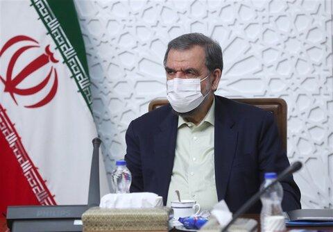 محسن رضایی با رییس قوه قضاییه دیدار کرد
