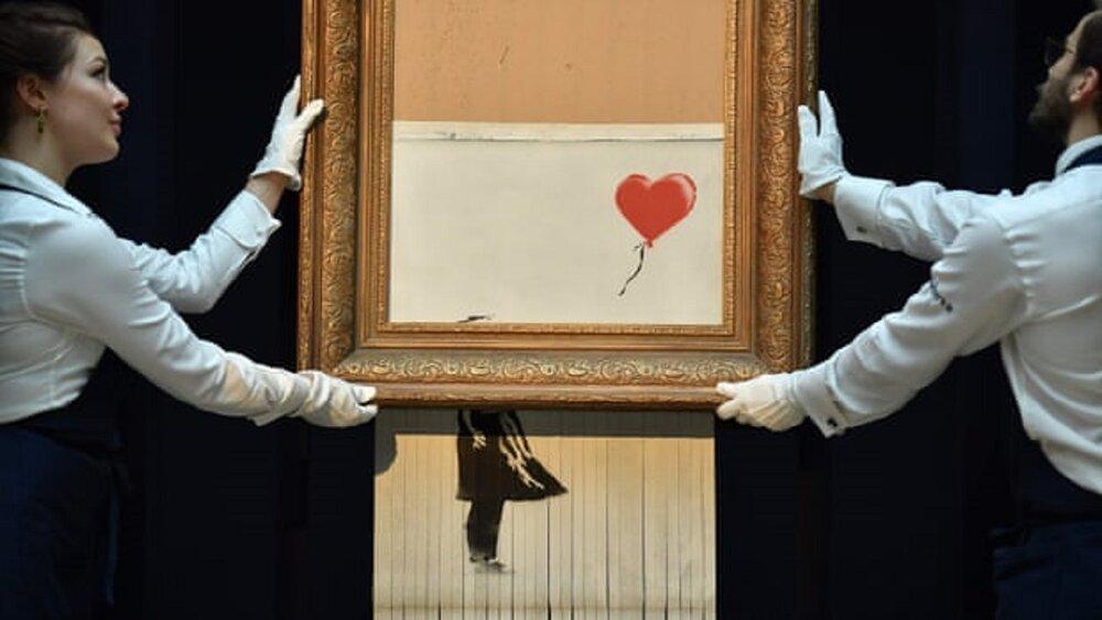 نقاشی جنجالی «بنکسی» به حراج گذاشته میشود