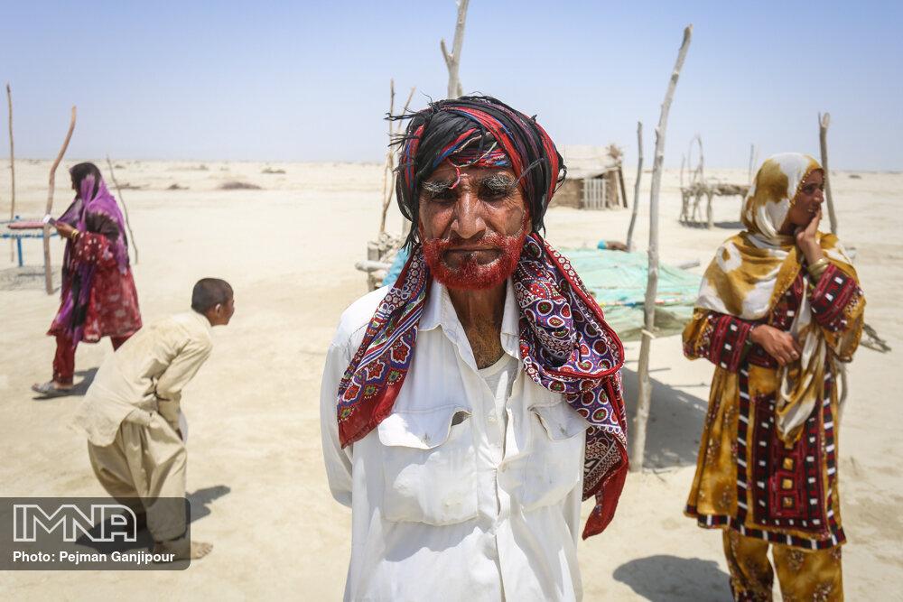کپرنشینان منطقه دشتیاری - سیستان و بلوچستان