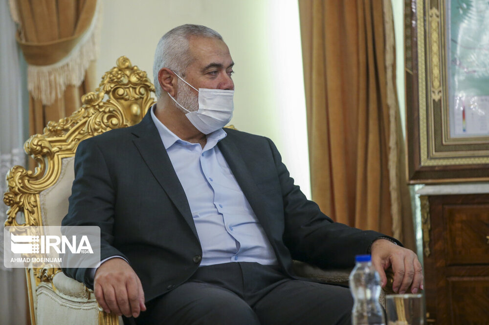 هنیه از ایران برای حمایت از فلسطین تقدیر کرد