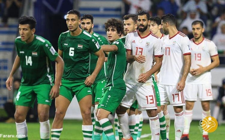 واکنش دو بازیکن عراق به شکست مقابل ایران