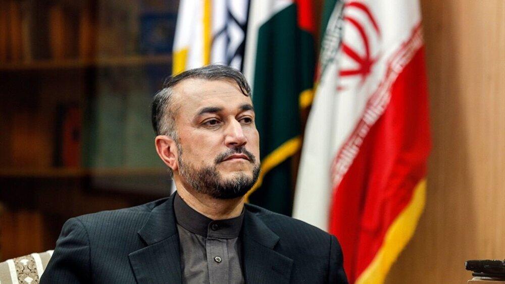 امیرعبداللهیان بازگشت مقتدرانه ناوگروه نیروی دریایی را تبریک گفت