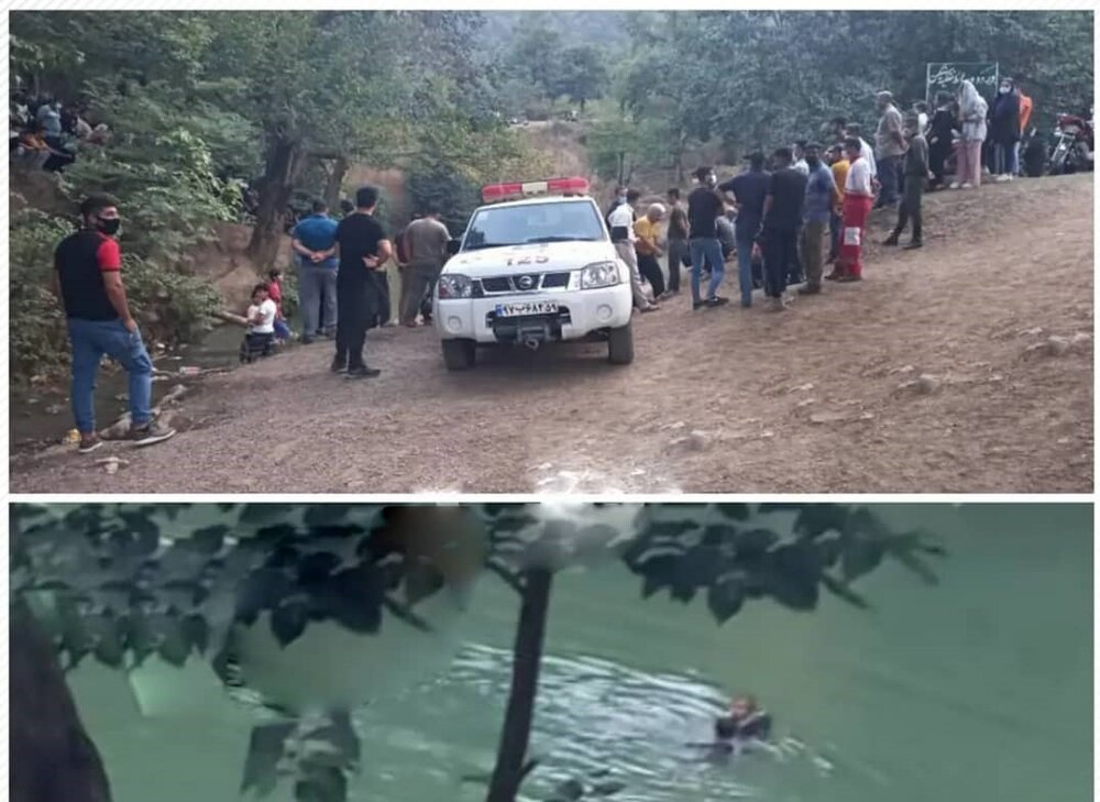غرق شدن جوان ۲۶ ساله در گل رامیان گرگان+عکس