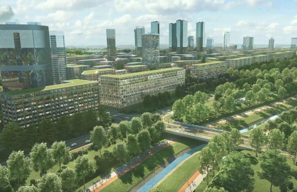 تبدیل منطقهای صنعتی به شهری سبز در لهستان