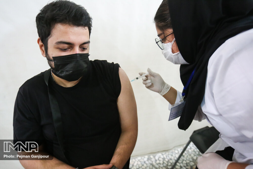 آخرین آمار واکسیناسیون کرونا ایران سوم مهر