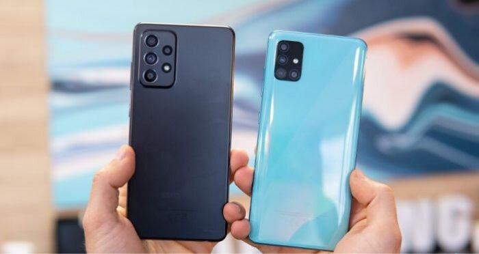 مقایسه گوشی سامسونگ Galaxy A32 و Galaxy A51+ لیست جزئیات