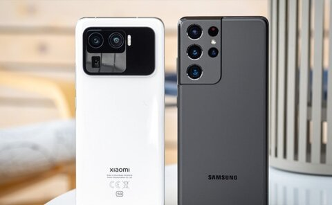مقایسه گوشی شیائومی Mi 11 Ultra و سامسونگ Galaxy S21 Ultra+ لیست جزئیات
