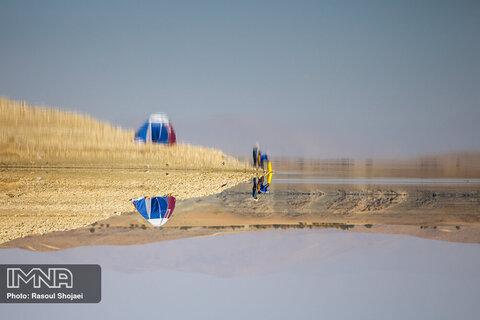 آخرین وضعیت سد زایندهرود در روزگار خشکسالی