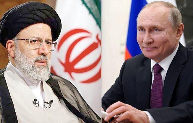 ابراز امیدواری رییسی و پوتین برای دیدار در آینده نزدیک
