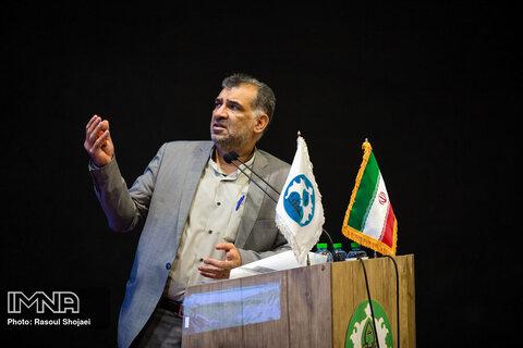 نشست خبری معاون مالی اداری دانشگاه اصفهان