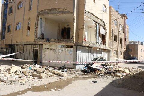 مصدوم شدن ۲ زن در انفجار منزل مسکونی فلکه پینارت