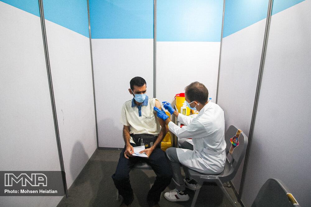 آماده سازی مرکز واکسیناسیون شهید سپهبد حاج قاسم سلیمانی