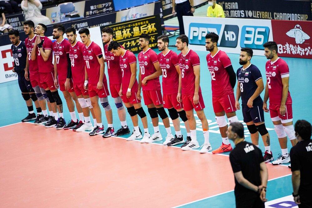 تیم والیبال ایران رتبه نخست آسیا را پس گرفت