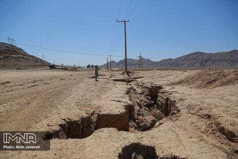 خشکی زاینده رود؛ علت اصلی فرونشست زمین در اصفهان است