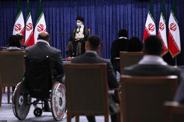 دیدار مدالآوران ایران در رقابتهای المپیک و پارالمپیک ۲۰۲۰ توکیو با مقام معظم رهبری