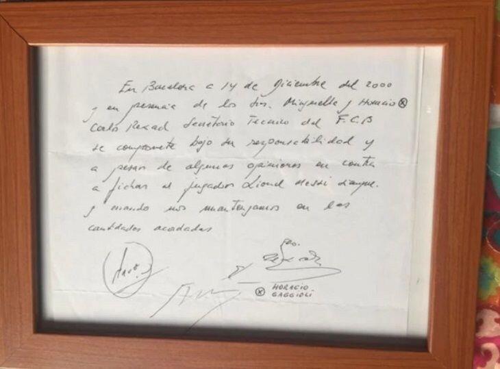 ۲۱ سال ثبت قراداد مسی روی دستمال گذشت!