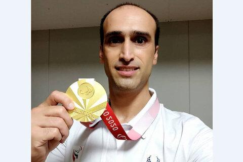 شورای شهر قزوین از مرتضی رمضانی ورزشکار طلایی پاراالمپیک تقدیر میکند