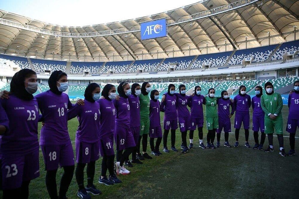 ایران_بنگلادش/نخستین مصاف دختران ایران در مقدماتی آسیا