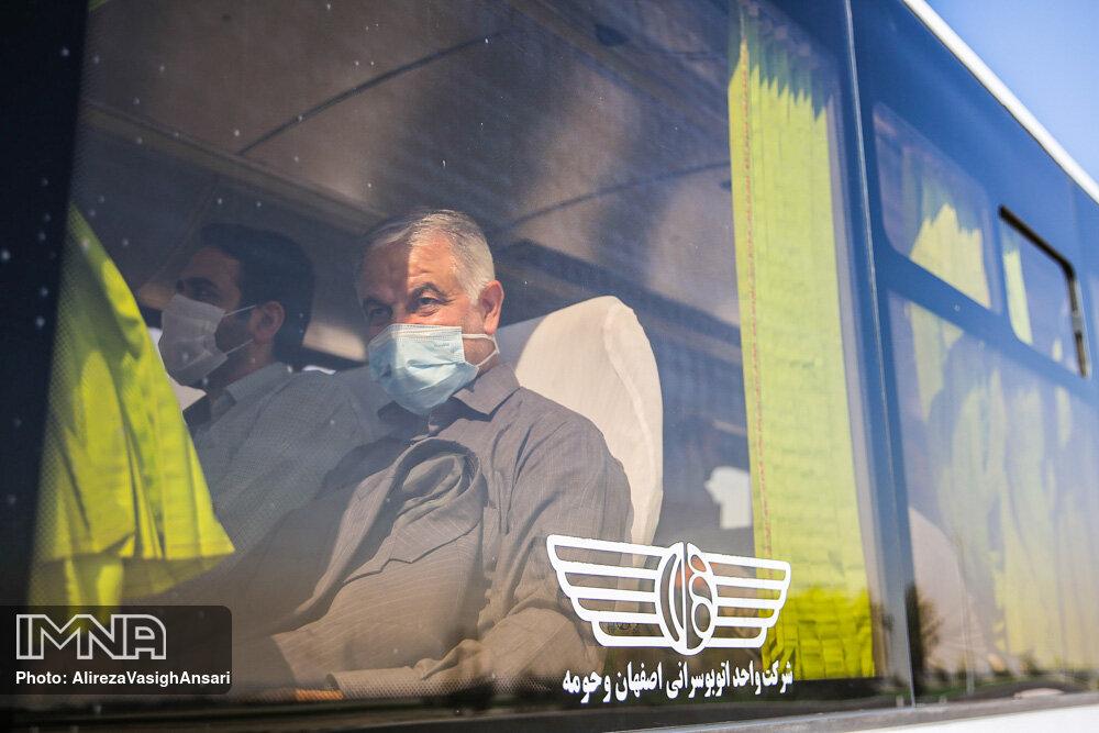 بازدید اعضای شورای شهر اصفهان از رینگ چهارم