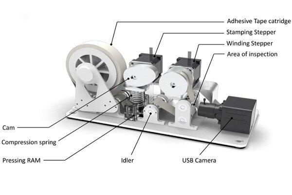 ابزاری که میزان آلودگی کف زمین را به رباتها اطلاع میدهد