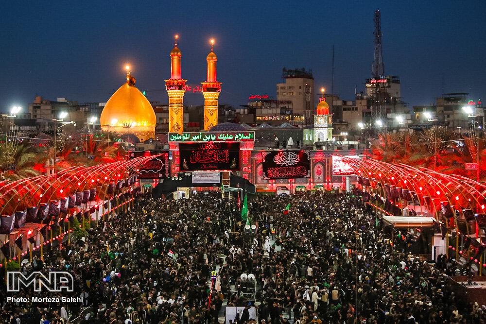 Karbala welcomes black-clad mourners
